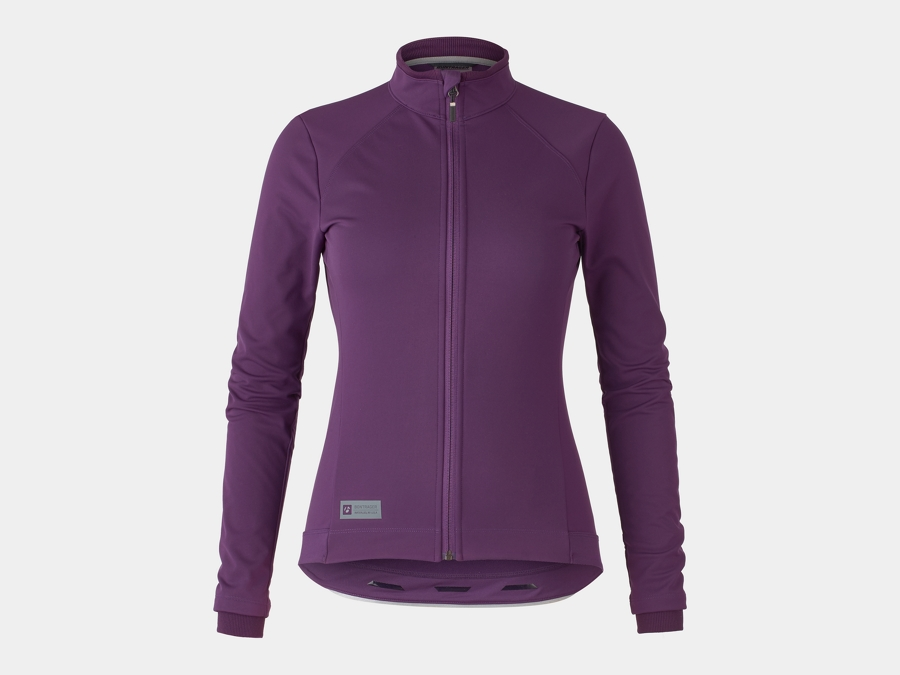 Bontrager Jacket Velocis Softshell Women Small Mulberry