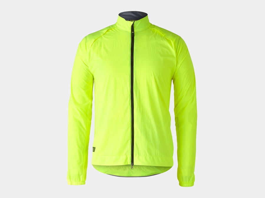 Bontrager Jacke Circuit Wind S Radioactive Yellow