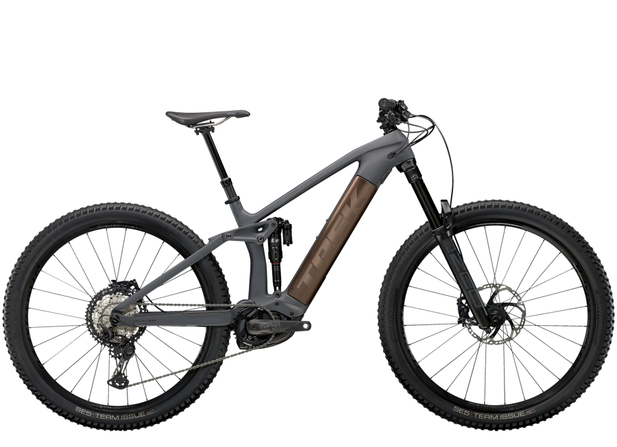 Trek Rail 9.8 XT M Solid Charcoal to Root Beer Ano Decal