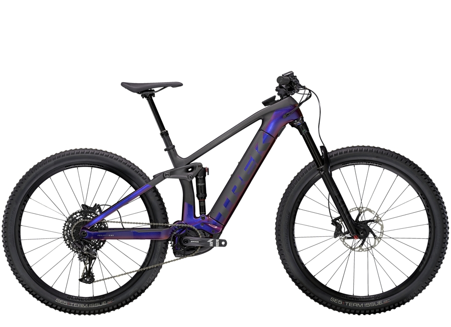 Trek Rail 9.7 L Gloss Purple Phaze/Matte Raw Carbon