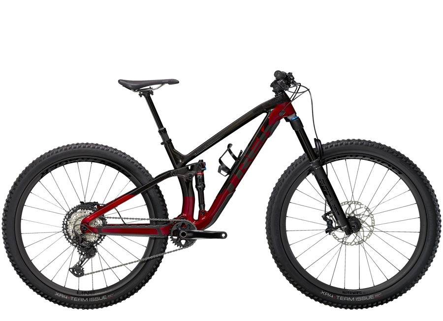 Trek Fuel EX 9.8 XT XS (27.5  wheel) Raw Carbon/Rage Red