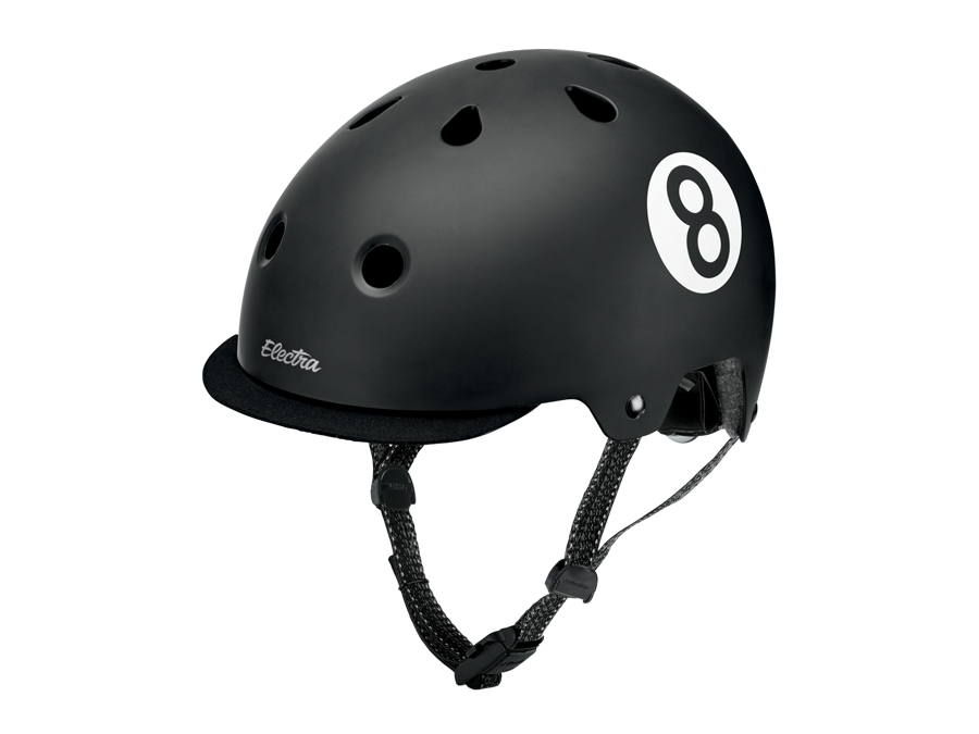 Electra Helmet Lifestyle Lux Straight 8 Large Black CE