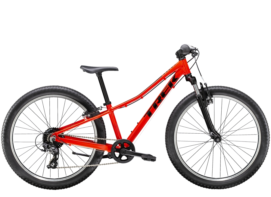 Trek Precaliber 24 8-speed Suspension 24  wheel Radioactive Red
